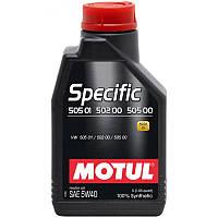 Моторное масло Motul SPECIFIC 505.01/502.00 5W-40