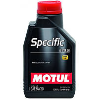 Моторное масло Motul SPECIFIC 229.51 5W-30 1л