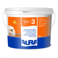 Краска для стен и потолка моющаяся Aura Lux Pro 3 10л