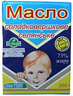 Первомайск Масло сливочное Крестьянское 73% 200г