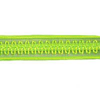 Резинка для бретелей ажурная, арт. 030 12 мм салатовая