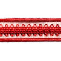 Резинка для бретелей ажурная, арт. 030 12 мм красная