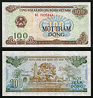 Вьетнам / Vietnam 100 Dong 1991 Pick 105a UNC
