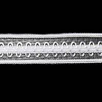 Резинка для бретелей ажурная, арт. 030 12 мм белая