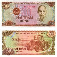 Вьетнам / Vietnam 200 Dong 1987 Pick 100a UNC