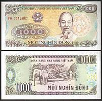 Вьетнам / Vietnam 1000 Dong 1988 P106a UNC