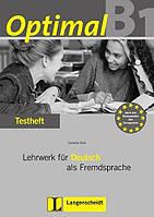 Optimal B1 Testheft + CD. Lehrwerk für Deutsch als Fremdsprache