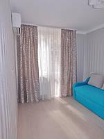 Спальня 2: оформление шторы и тюль