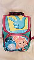 Рюкзак каркасный школьный Фикси размер 35x25x15 (Ваня 0630283456)