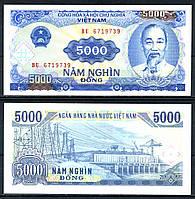 Вьетнам / Vietnam 5000 Dong 1991 Pick 108a UNC