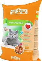 Club 4 Paws Сухой корм для котов Курица 11кг