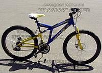 Горный велосипед двухподвесный Azimut Dinamic 26