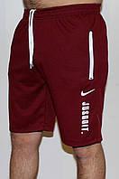 Мужские трикотажные шорты Nike бордо 18