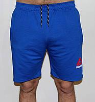 Мужские трикотажные шорты Reebok синие 21
