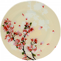 Блюдо круглое 25 см Цветущая вишня SNT 309-6