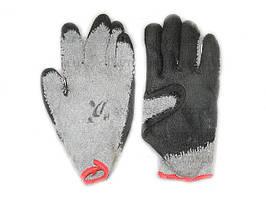 Перчатки рабочие 142 серые/вязаные/прорезиненные (пара)