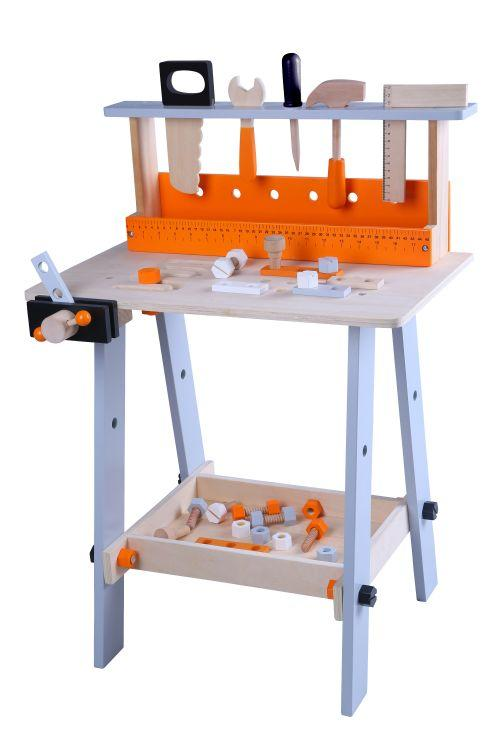 Деревянный набор инструментов Ecotoys 1173, фото 1