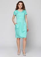 777 Платье мятное