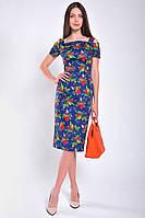 Платье женское летнее элегантное миди