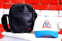 Кепка, бейсболка мужская, летняя, весенняя. белый+голубой Reebok