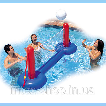 Надувний набір для водного волейболу з сіткою Intex 58502, фото 2