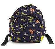 Небольшой стильный яркий рюкзак art. 214 цветные африканские зверушки