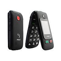 "Телефон-раскладушка Sigma mobile Comfort 50 Shell Duo Black черный (2SIM) 2,4"" 0,3 Мп оригинал Гарантия!"