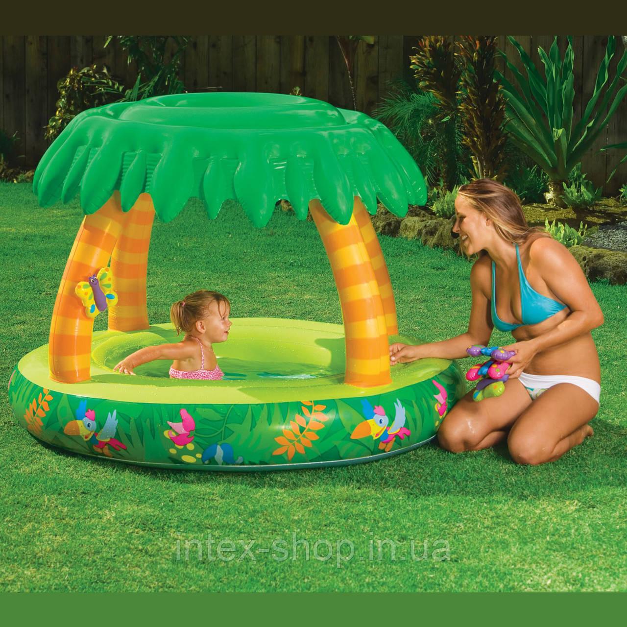 Детский надувной бассейн Intex 57408 (155х112 см.)