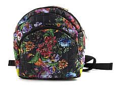 Небольшой стильный яркий рюкзак art. 214 яркие цветы