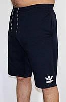 Мужские трикотажные шорты Adidas синие 32