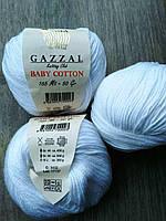 Gazzal Baby Cotton - 3432 белоснежный