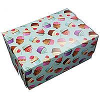 Подарочная коробка рисунок 18*12*8