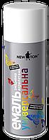 Фарба емаль аерозольна 400мл 9005 чорна глянцева універсальна Newton 207-446 | краска эмаль аэрозольная черная глянцевая универсальная