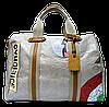 Женская летняя сумочка из искусственной кожи бежевого цвета PBG-221120