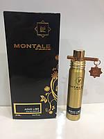 Мини парфюм унисекс Montale Aoud Lime (Монталь Уд Лайм) 20 мл