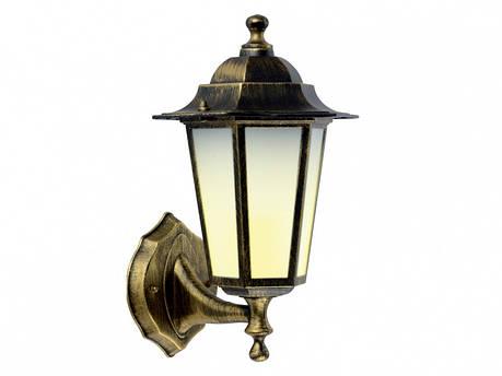 Садово-парковый светильник DeLux PALACE A01 черное золото, фото 2