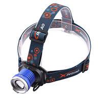 Налобный фонарь 12v Police 6807B-T6, zoom
