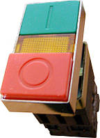 Кнопка 2* Старт/Стоп с подсветкой XB2-BW8375