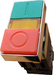 Кнопка 2* Старт-Стоп с подсветкой АСКО XB2-BW8375