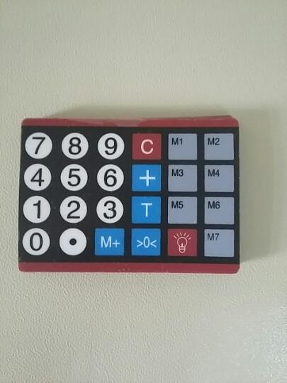 Плівка клавіатури ваг ACS-769 Олімп