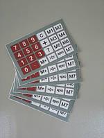 Пленка клавиатуры весов ACS-768D