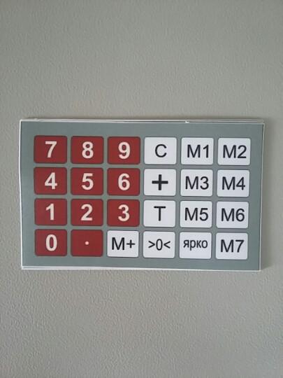 Плівка клавіатури ваг ACS-768D