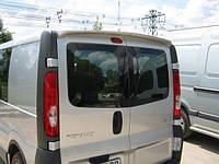 Спойлер на Opel Vivaro Renault Trafic
