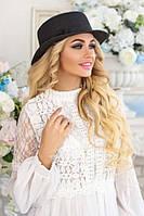 Соломенная шляпа-канотье «Мэгги»