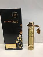 Мини парфюм женский Montale Pure Gold (Монталь Пур Голд) 20 мл