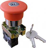 Кнопка безопасности Возврат ключем XB2-BS142 (АСКО)