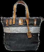 Женская летняя сумка из ткани на плечо PFF-775778