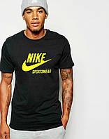 Мужская Футболка Nike Sportswear черного цвета