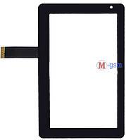 Тачскрин (сенсорный экран) Onda V701, Vi10 (p/n: 300-N3400B-A00-VER1.1, HLD-PG709S) черный