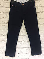 Штаны черные хлопок для мальчиков 98-122